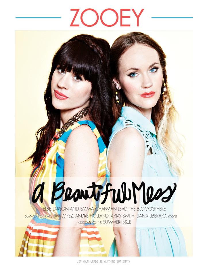 A Beautiful Mess + Zooey Magazine