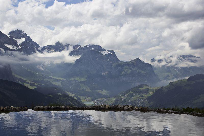 The beautiful swiss alps