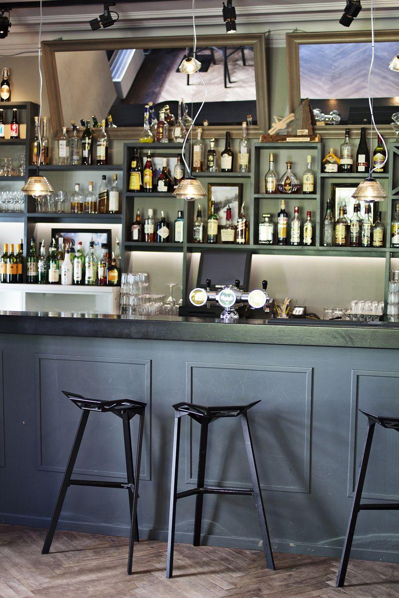 Ski lodge bar