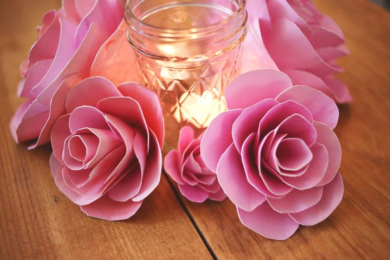 How To Make Paper Flowers - A Beautiful Mess