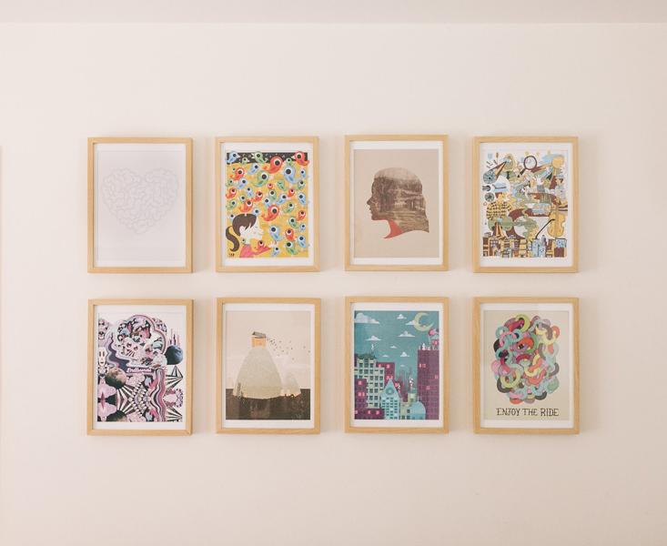Darling gallery wall
