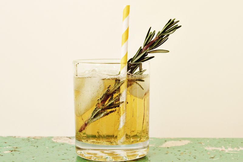 Elsie's Cocktail Tradition www.abeautifulmess.com