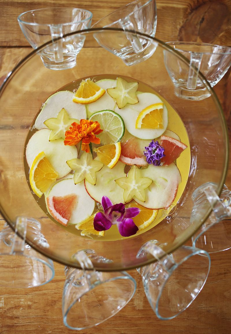 Four Seasons Sparkling Punch
