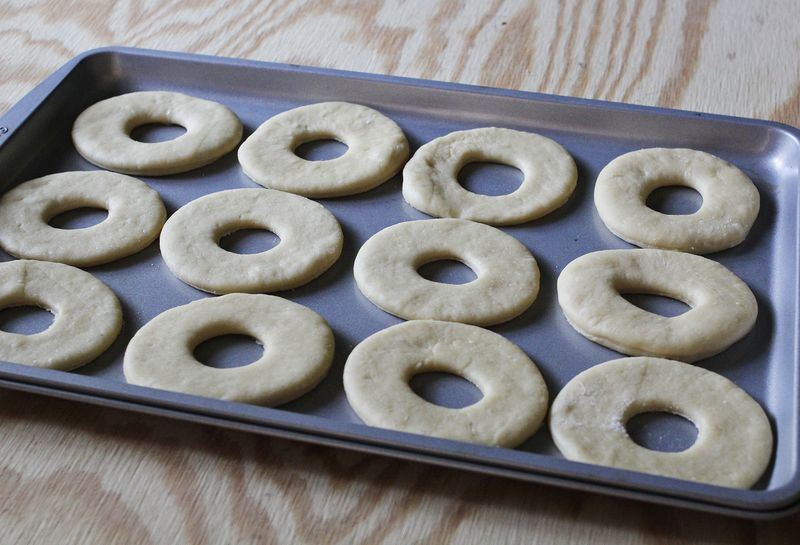 Homemade donuts abeautifulmess.com
