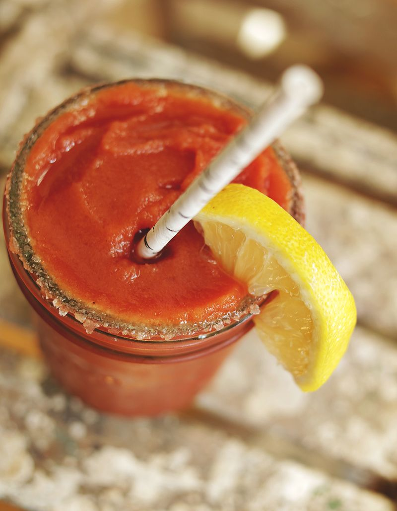 Frozen Bloody Mary via abeautifulmess.com