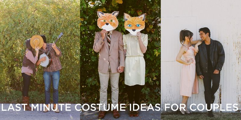 Last minute costume ideas