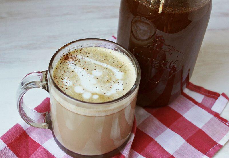 Pumpkin spice latte syrup recipe abeautifulmess.com