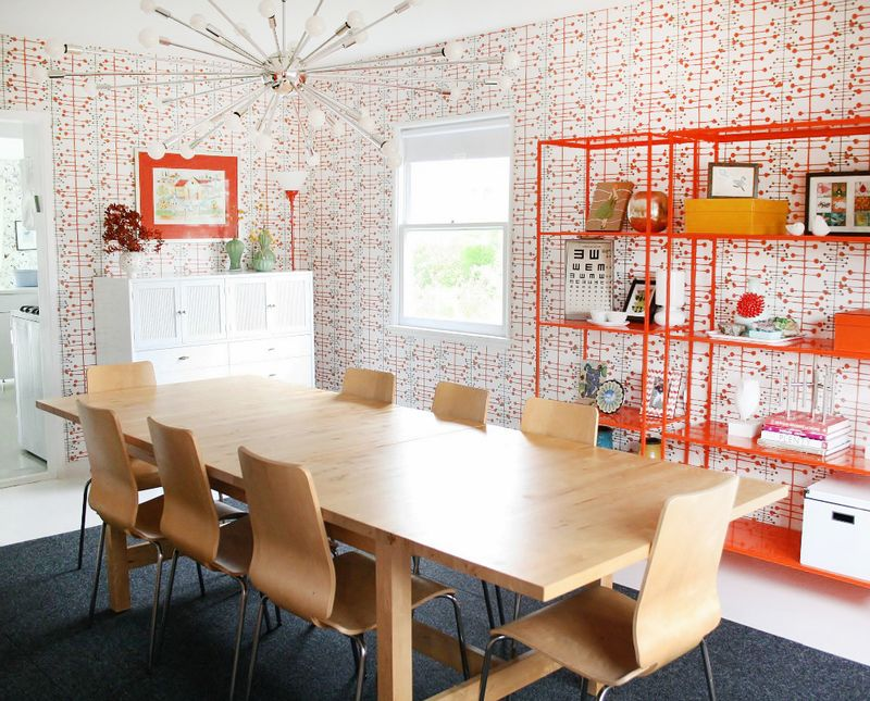 Lovely retro dining room