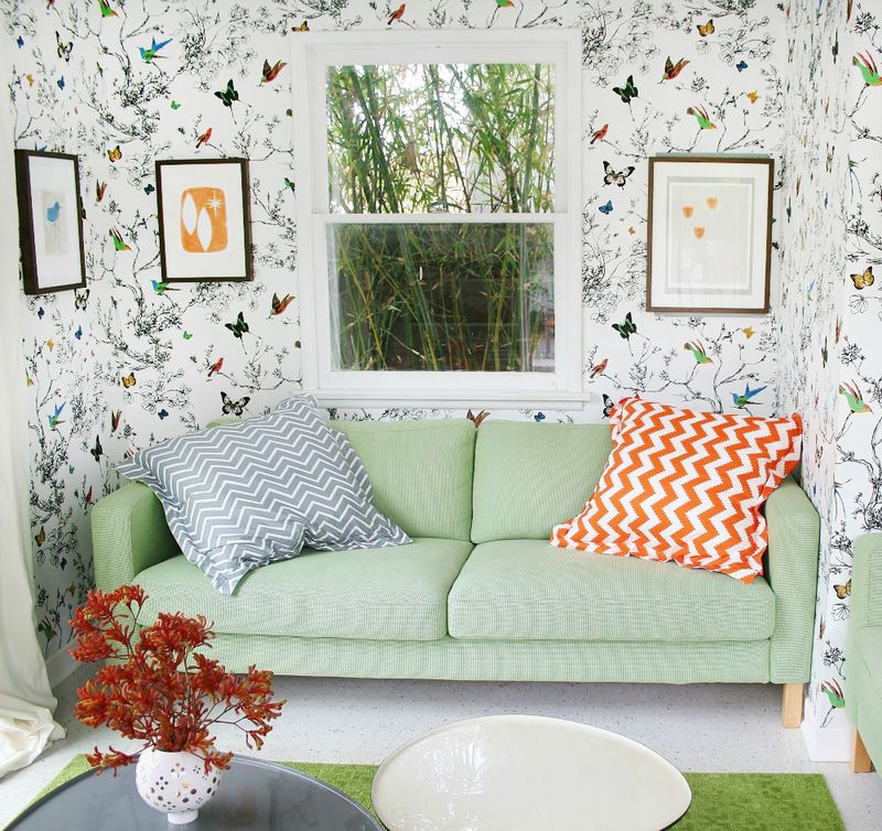 Bethany Herwegh's lovely living space