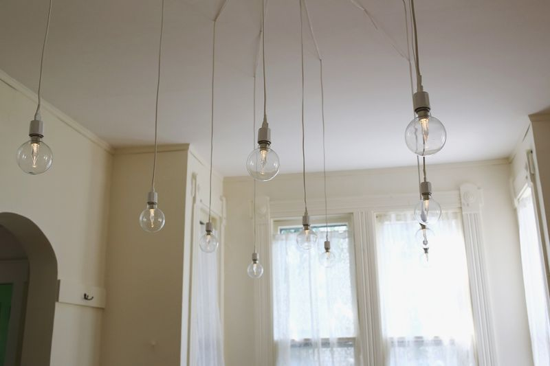 Elsie\'s dream (DIY) light fixture - A Beautiful Mess