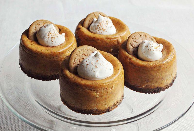 My favorite pumpkin cheesecake recipe