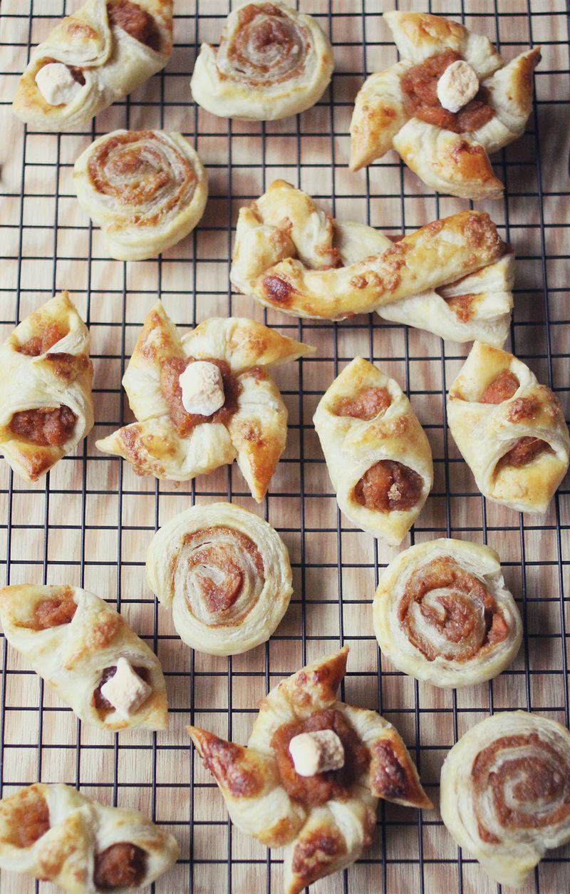 Easy sweet potato pie pastries