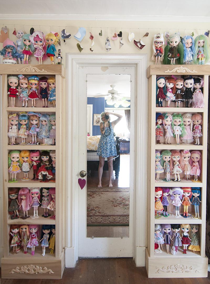 Sherri Bemis' amazing doll collection!