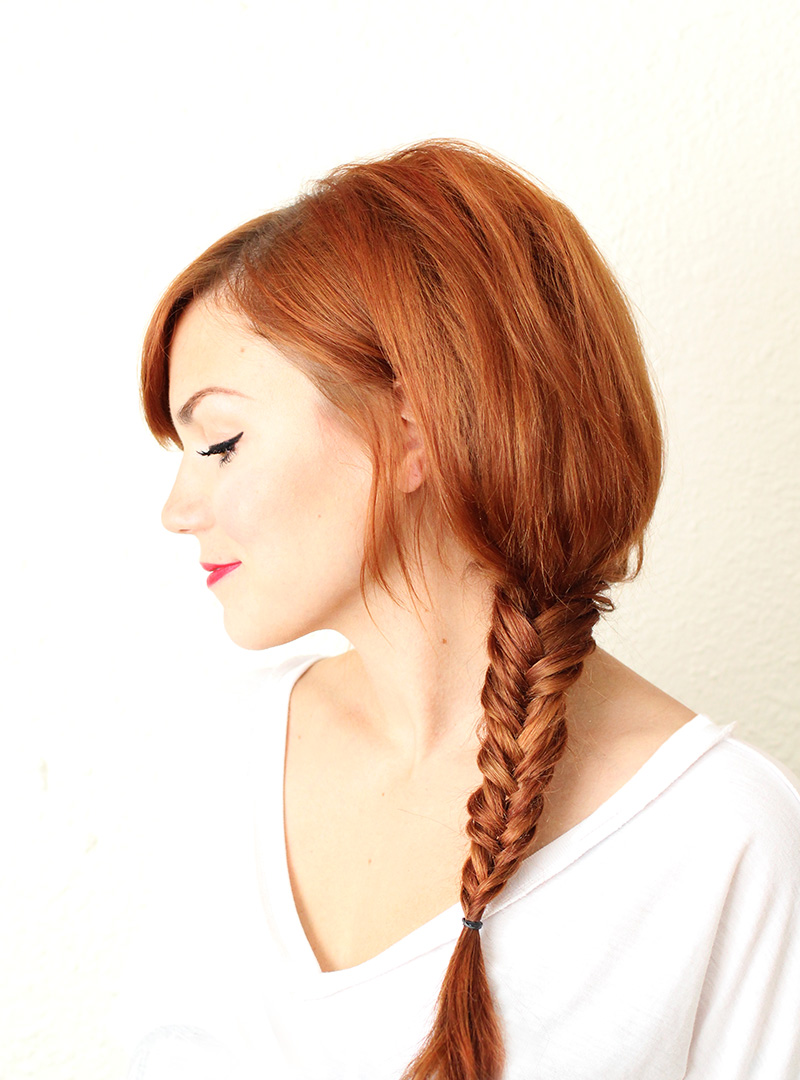 Great fishtail braid video tutorial