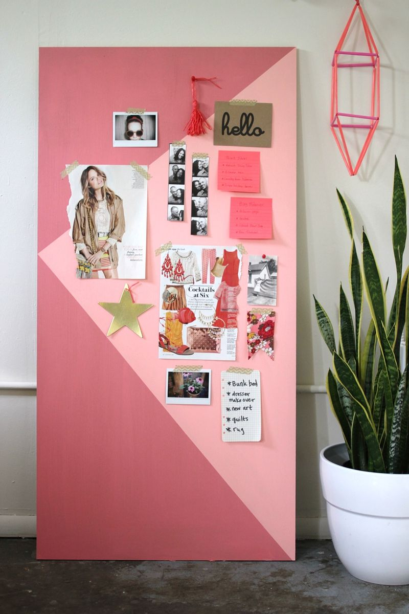 Try This : Color Block Mood Board