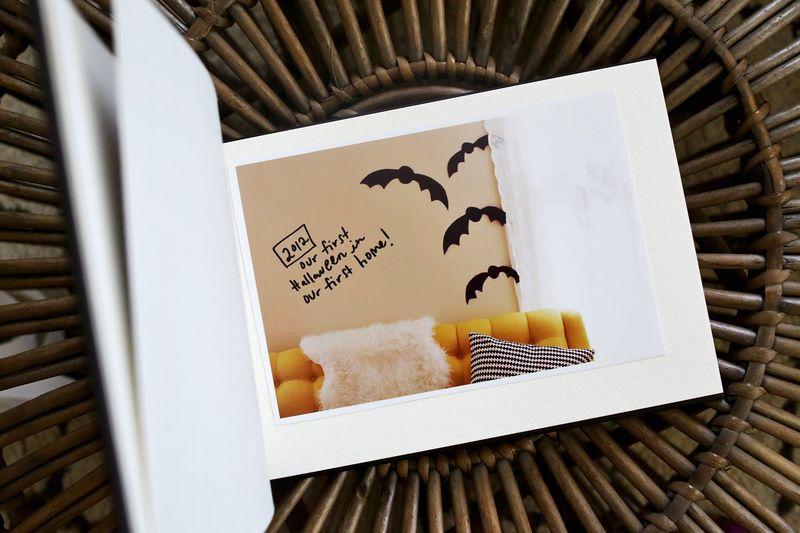 Halloween Memories mini book idea! Each year add a photo from the season!!