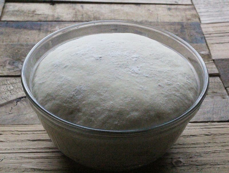 Pretzel bread dough