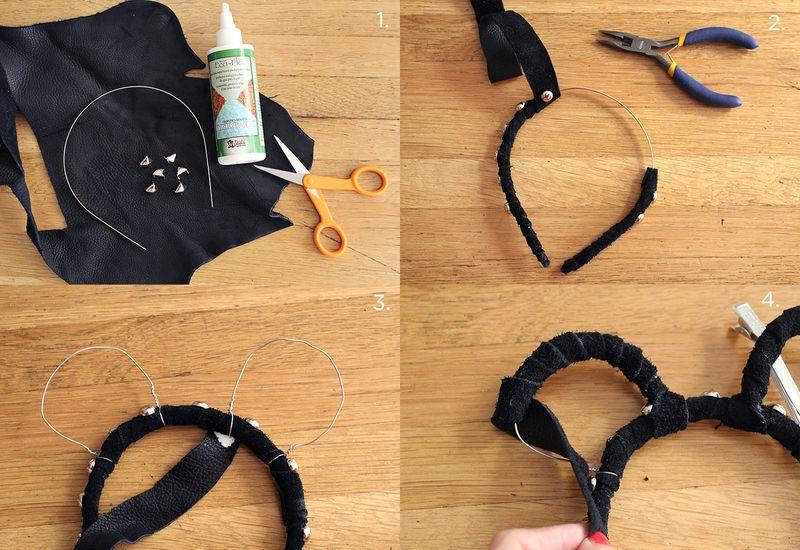 Animal Ears Headband DIY