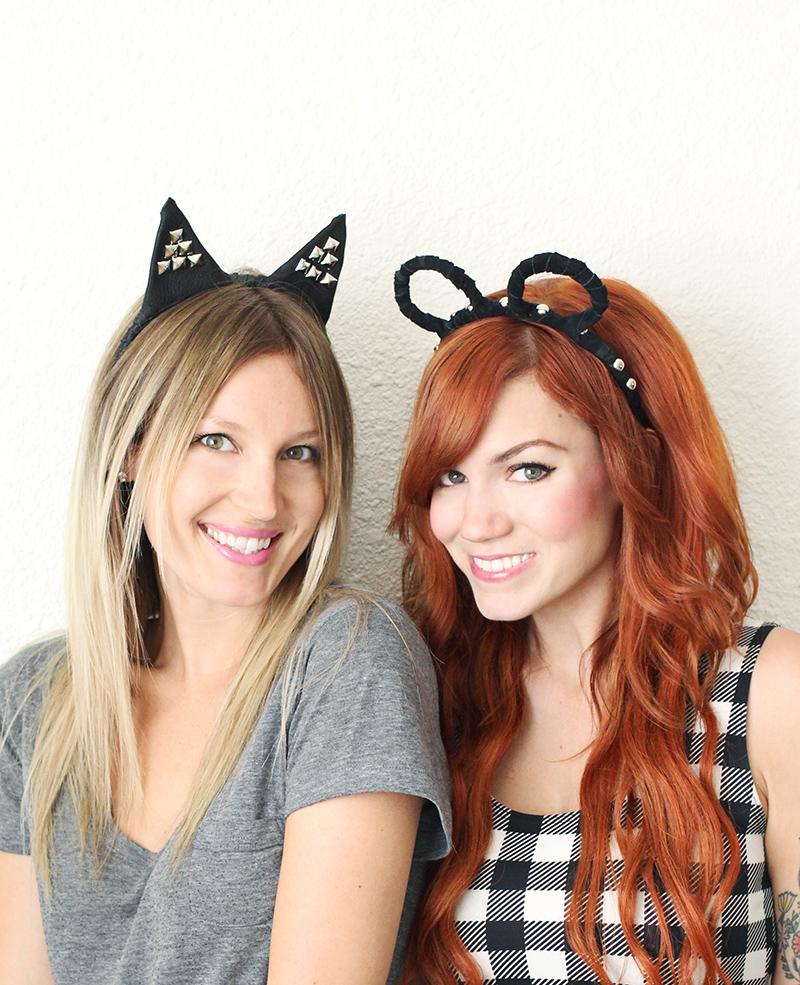 Adorable animal headband DIY!