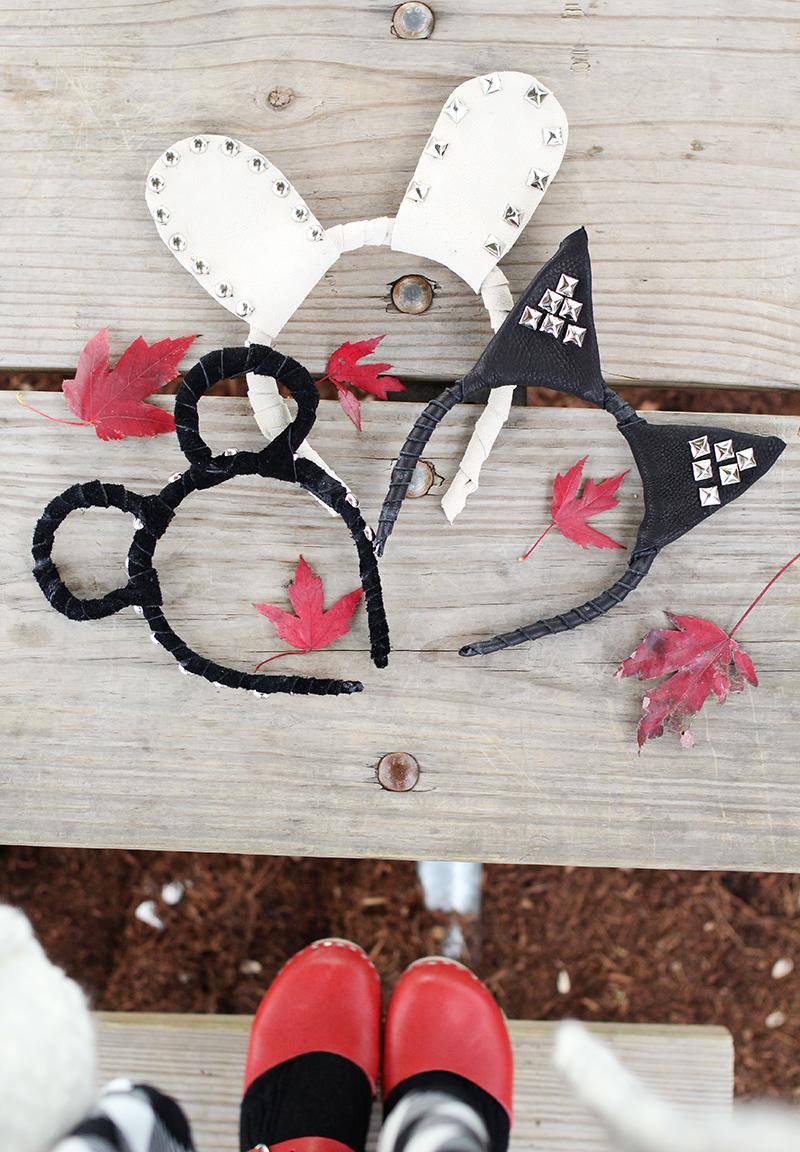 Love this animal headband DIY!