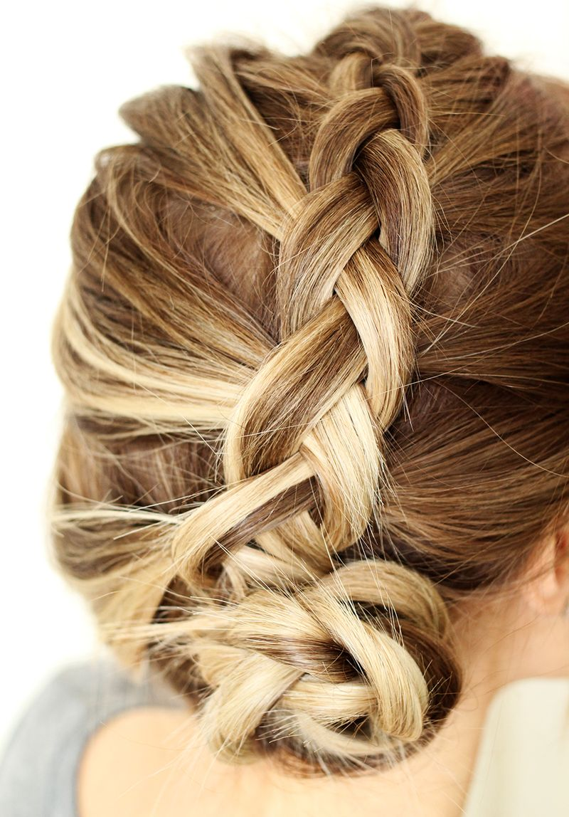 how to style a simple dutch braid a beautiful mess. Black Bedroom Furniture Sets. Home Design Ideas