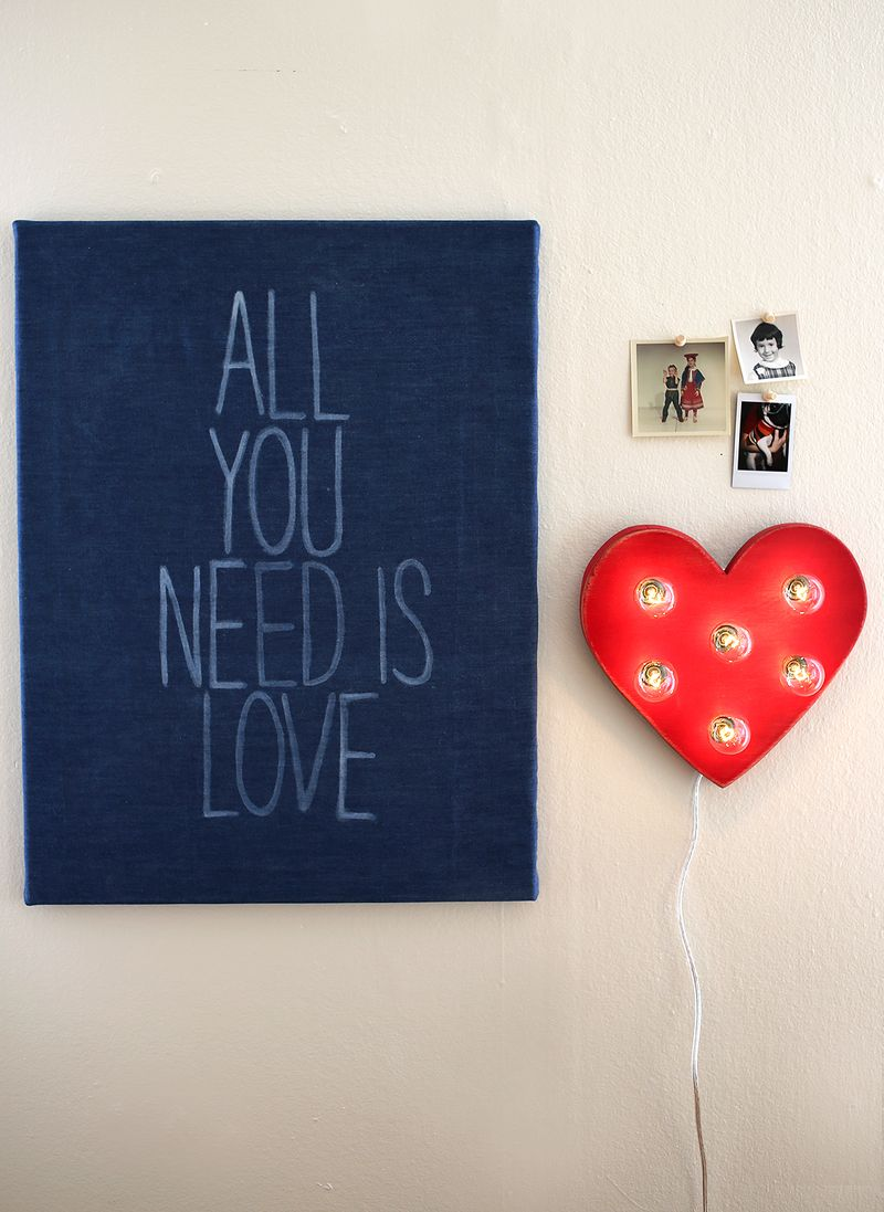 All You Need Is Love (click through for DIY details!)
