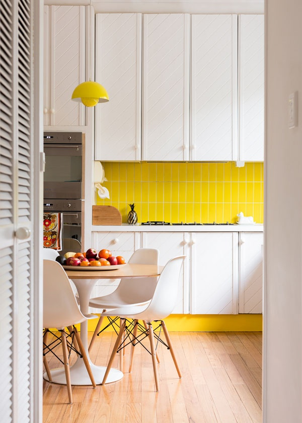 Bright dreamy kitchen