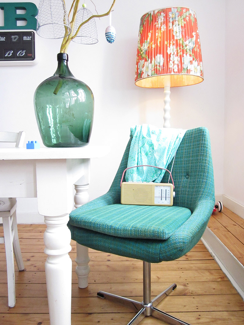 Swooning over the teal