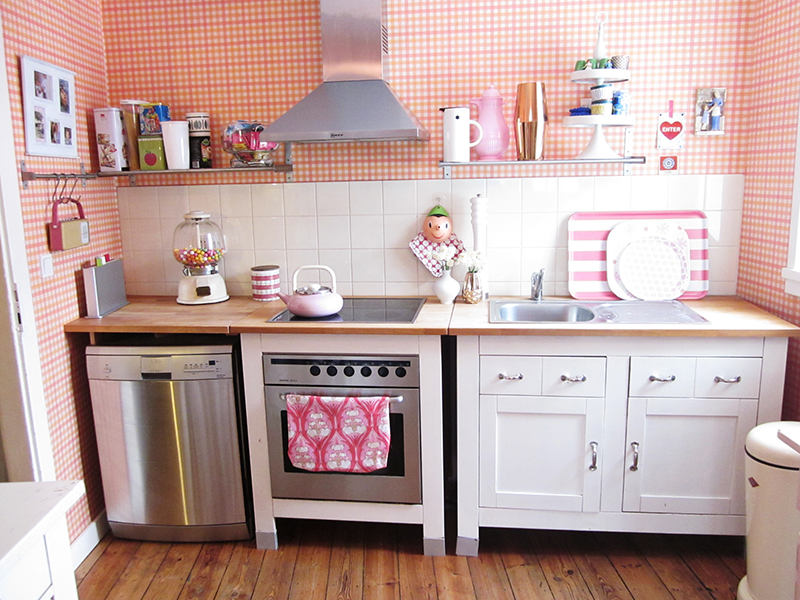 Sweetest little kitchen