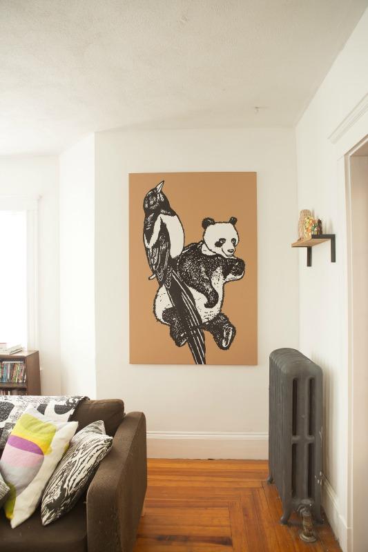 Sweet art for the living room