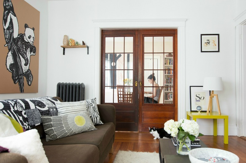 Love the french doors in this home!