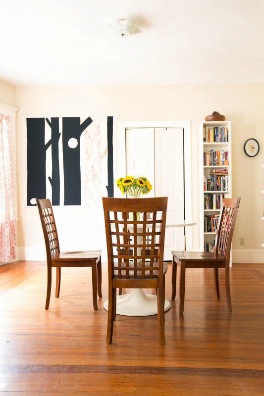 Love everything about this dining area!