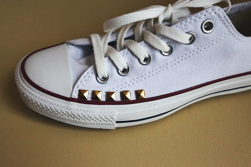 Make Your Own Studded Converse A Beautiful Mess. Diy Studded Converse d547fceb0