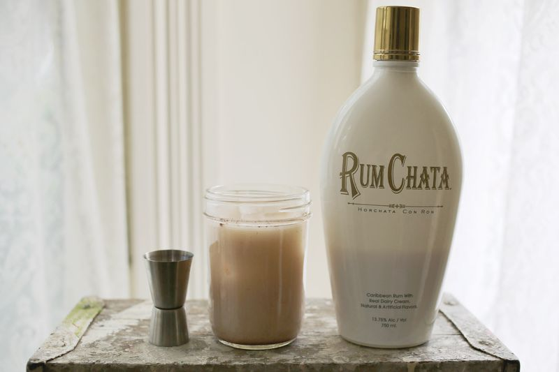Spiked (or not!) Horchata recipe… so delicious! (click through for the full recipe)