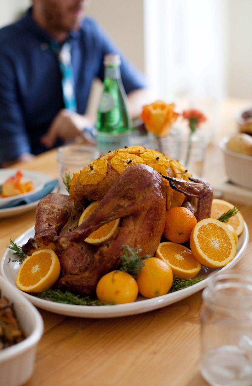 Orange and cloves turkey