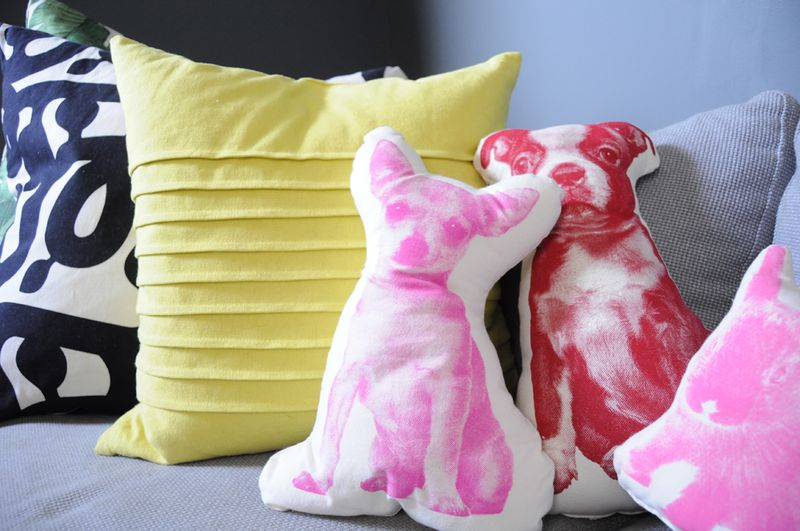 Pup pillows!!