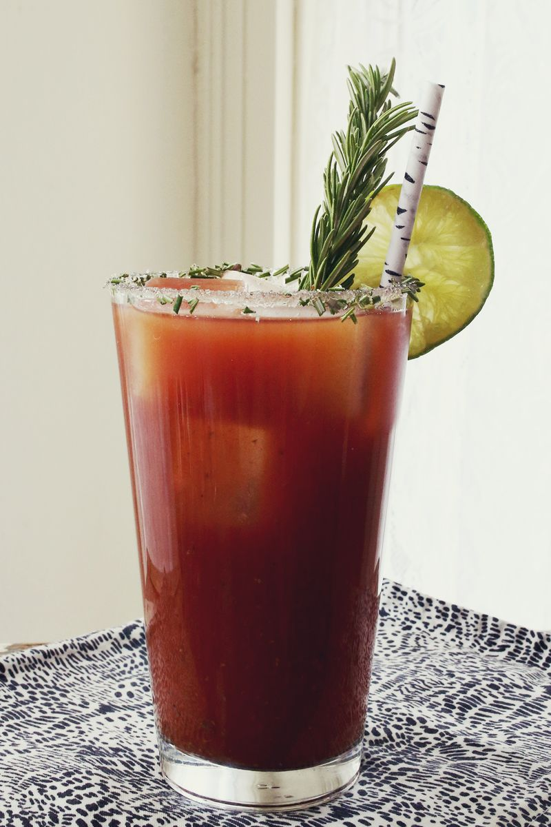 Rosemary Bloody Mary (click through for the recipe!)