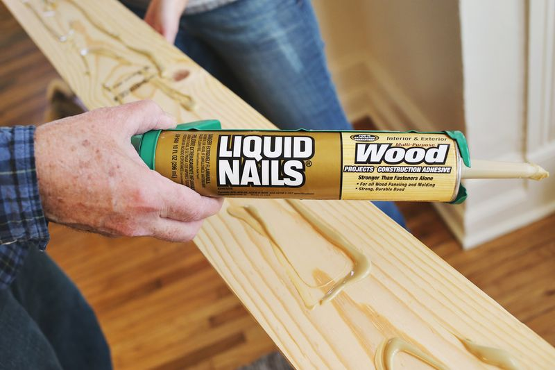 How to use liquid nails