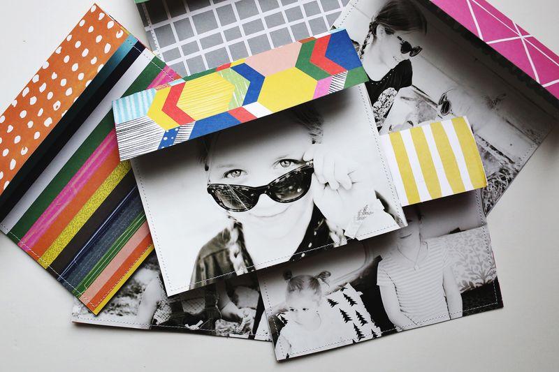 Completed envelopes