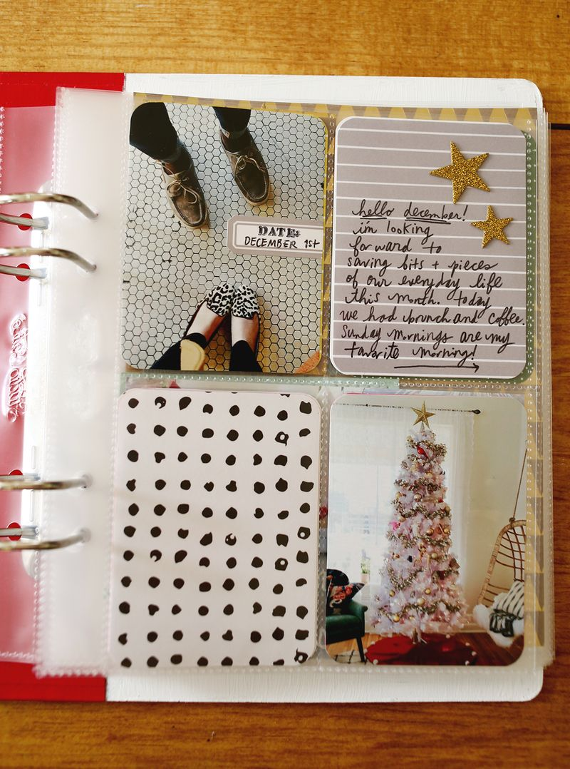 December Daily via A Beautiful Mess