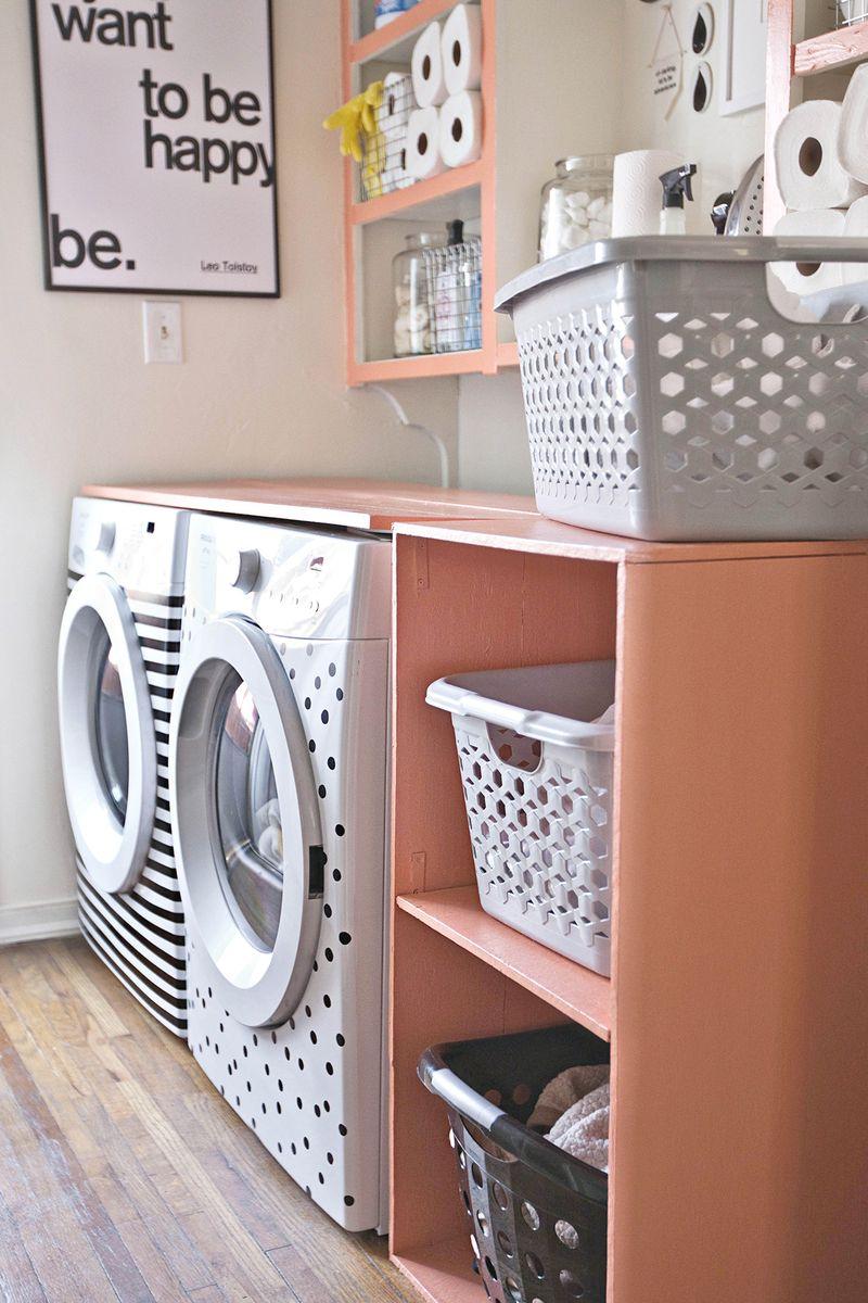 Diy Laundry Room Shelf A Beautiful Mess