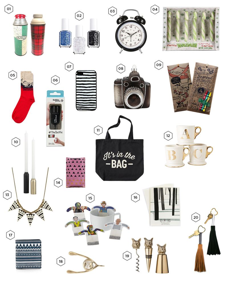 Gift Guide 20 Gifts For Him Her Under 20 A Beautiful Mess