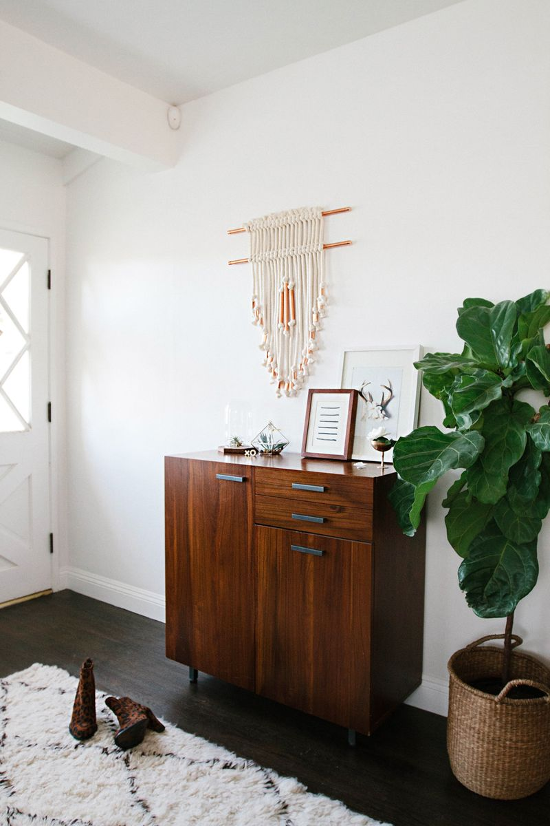 Easy diy Entryway-wall-hanging