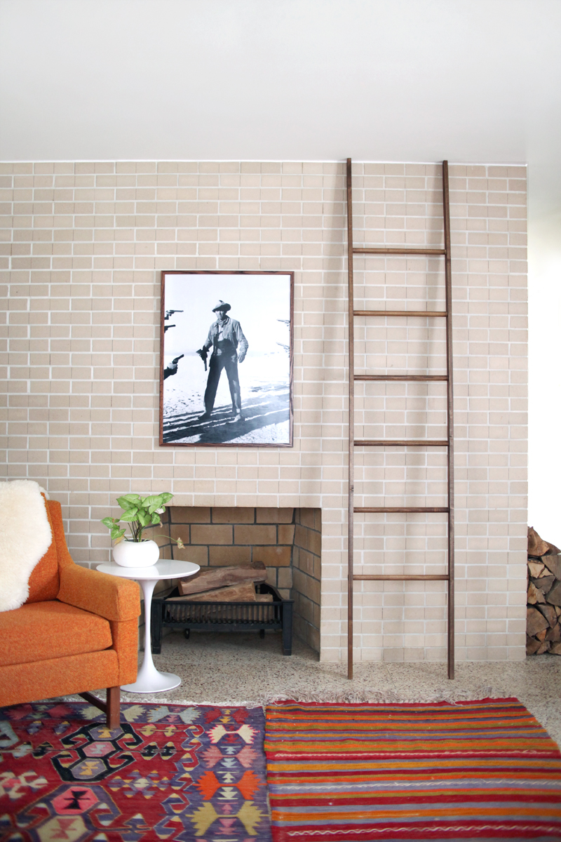 Make Your Own Leaning Blanket Ladder A Beautiful Mess