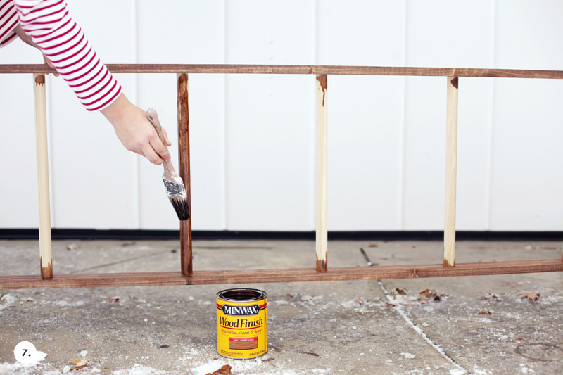 Make Your Own Leaning Blanket Ladder Click Through For Instructions