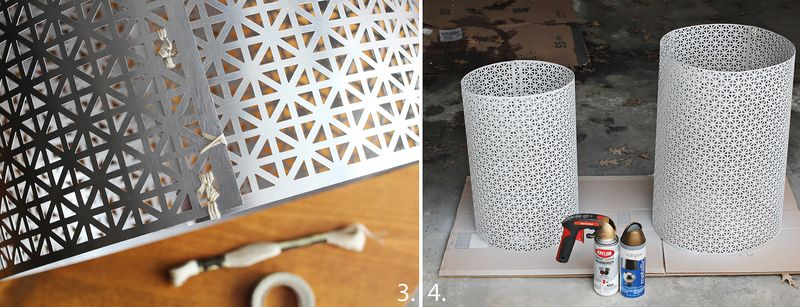 How to make a side table step 2