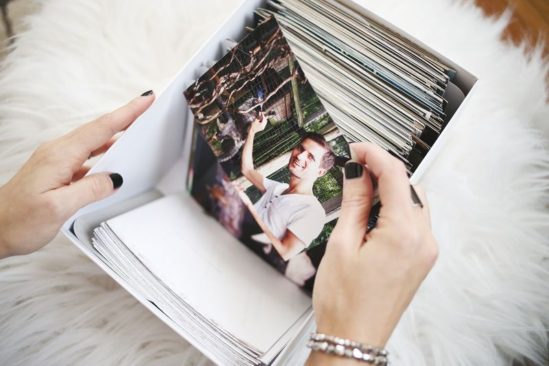 Tips for Organizing and Storing Photos abeautifulmess.com