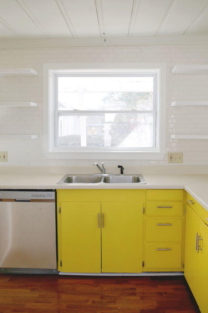 A Beautiful Mess kitchen updates