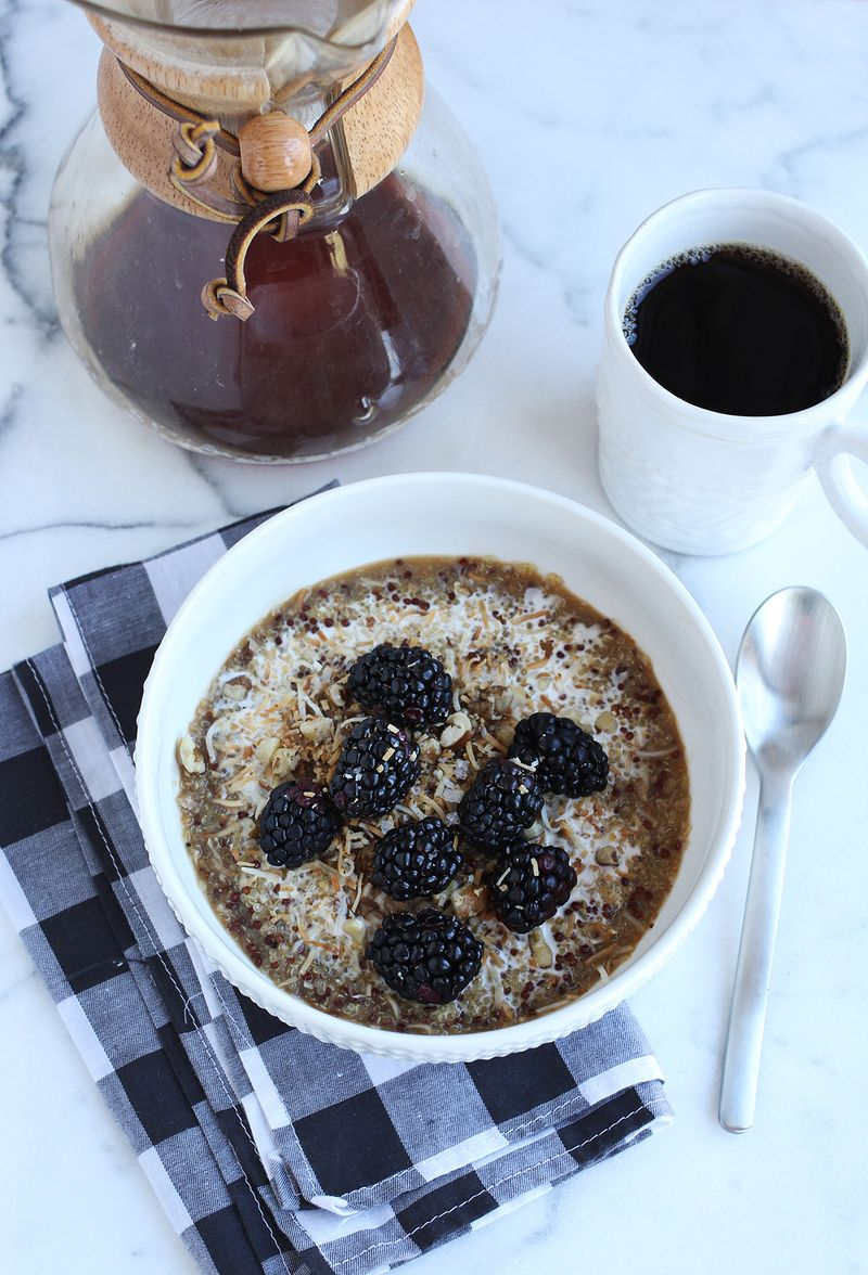 How to make the best breakfast quinoa