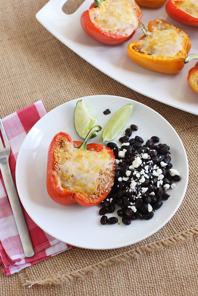 Best quinoa stuffed bell peppers